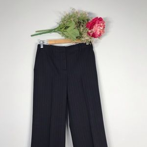 J. Crew  Wool Cashmere Striped Trouser Pants SZ4